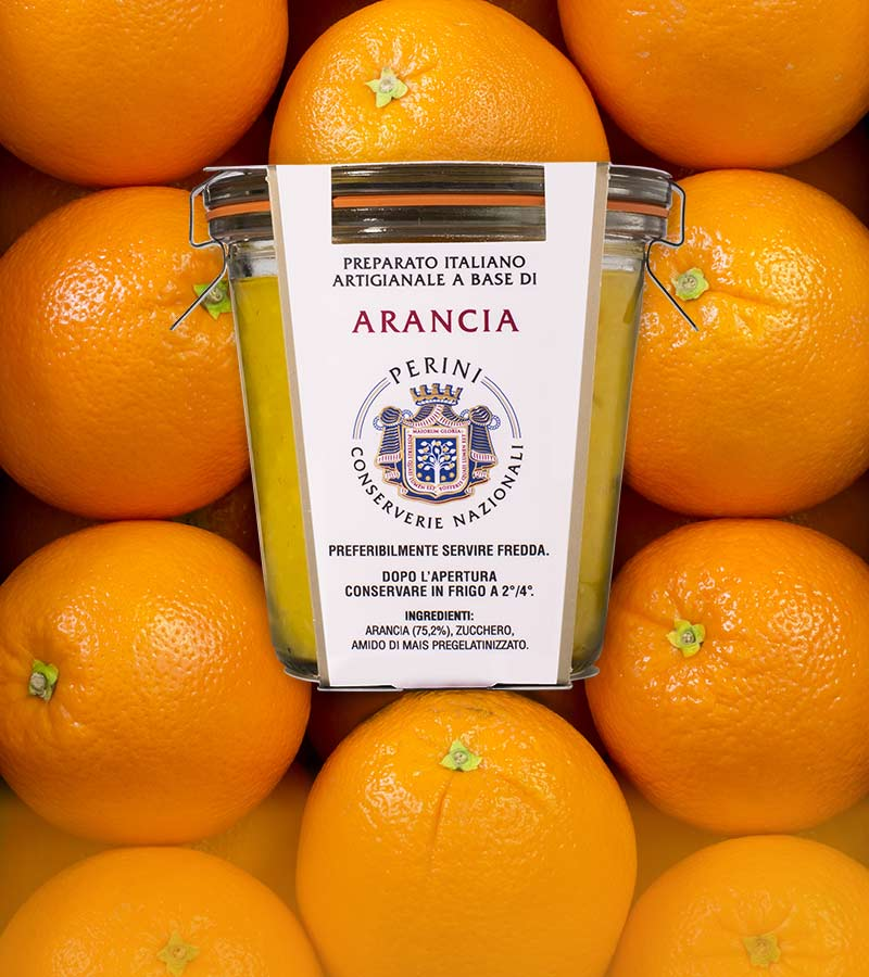 marmellata gusto arancia con arance