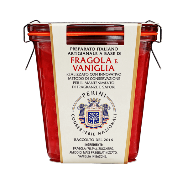 vasetto fragola e vaniglia
